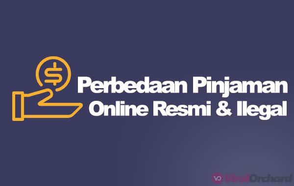 Perbedaan Pinjaman Online Resmi dan Ilegal