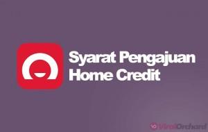Syarat Home Credit 2020