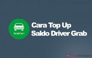 Cara Top Up Saldo Grab Driver