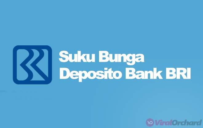 Suku Bunga Deposito BRI