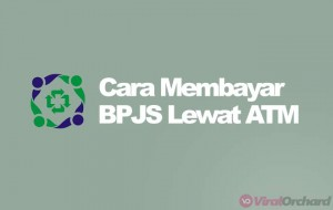 Cara Bayar BPJS Lewat ATM