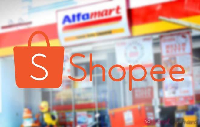 Cara Bayar Shopee di Alfamart