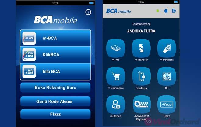 Cara Transfer M-Baking BCA