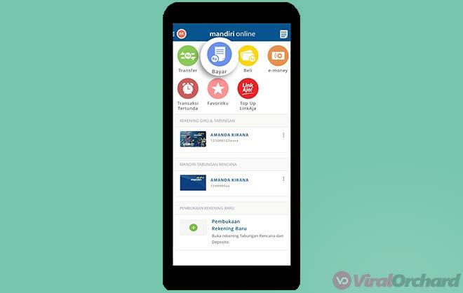 Cara Transfer Virtual Account Mandiri Online