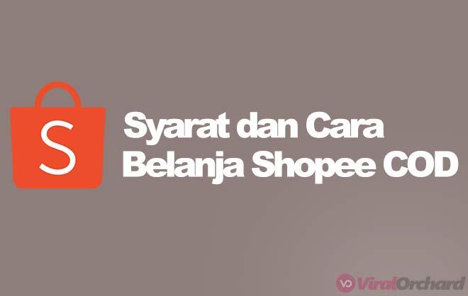 Cara Belanja Di Shopee COD