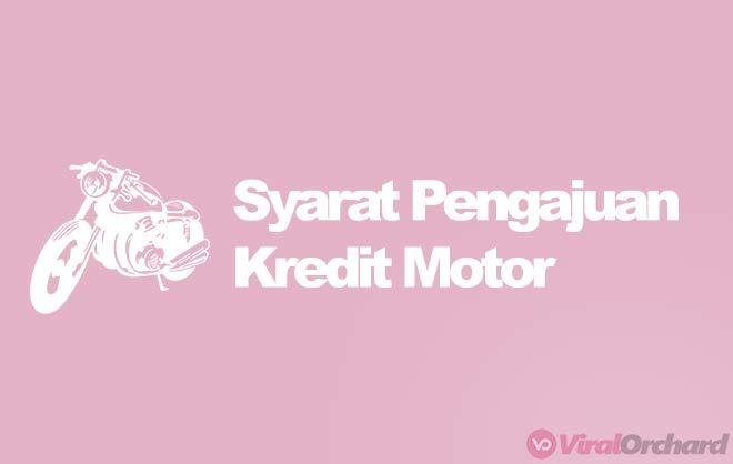 Syarat Kredit Motor
