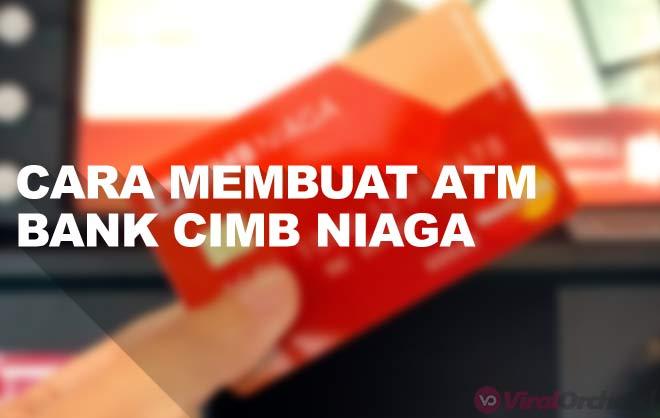 Cara Bikin ATM CIMB Niaga