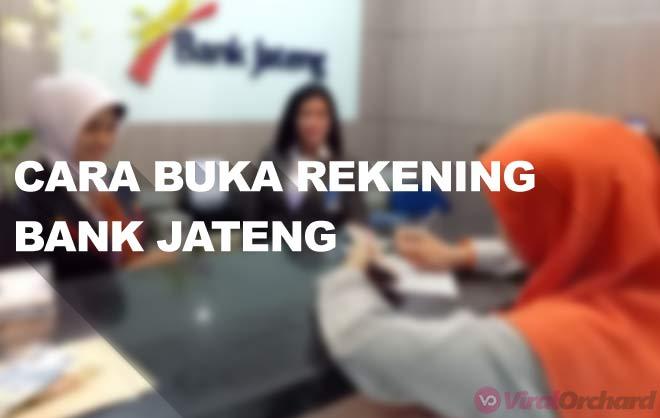 Cara Buka Rekening Bank Jateng