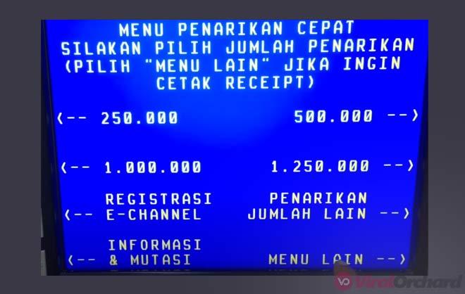 Cara Mengambil Uang di Mesin ATM BNI