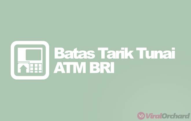 Maksimal Penarikan ATM BRI