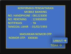Nomor Hp SMS Banking Mandiri