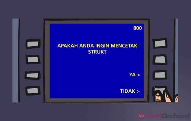 Notifikasi Kartu ATM BCA