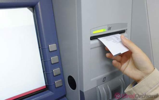 Struk ATM Mandiri