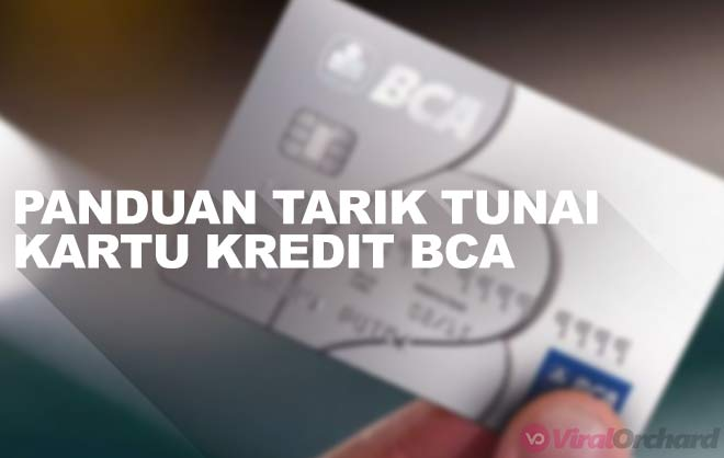 Tarik Tunai Kartu Kredit BCA