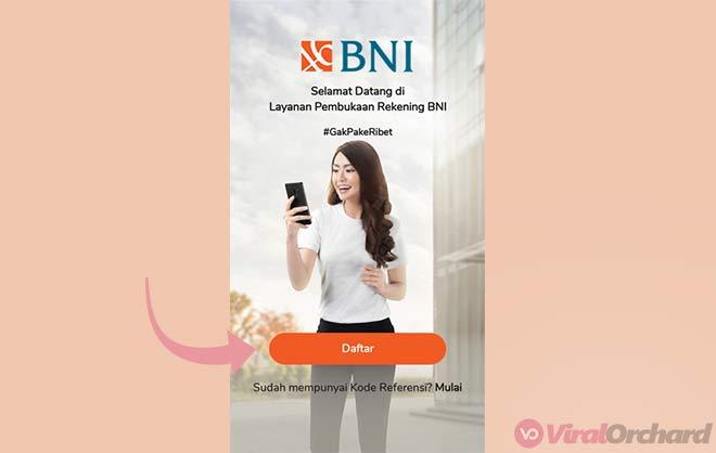 Daftar Rekening BNI Online