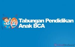 Tabungan Pendidikan Anak BCA