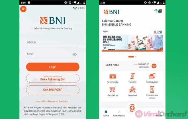 Cara Cek Saldo Mobile Banking BNI