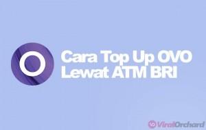Cara Top Up OVO di ATM BRI