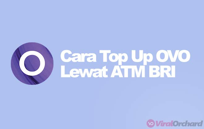 Cara Top Up OVO di ATM BRI