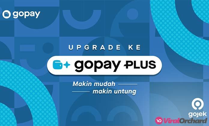 Cara Upgrade Akun GoPay Plus