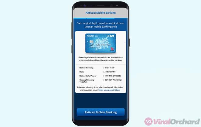 Aktivasi Mobile Banking