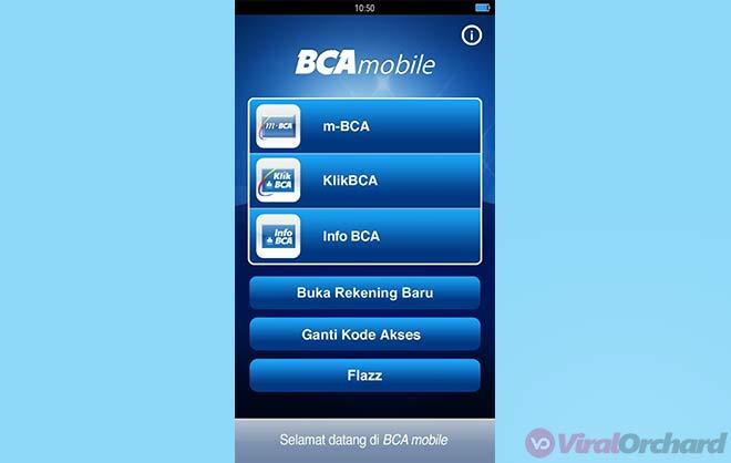 BCA Mobile KlikBCA
