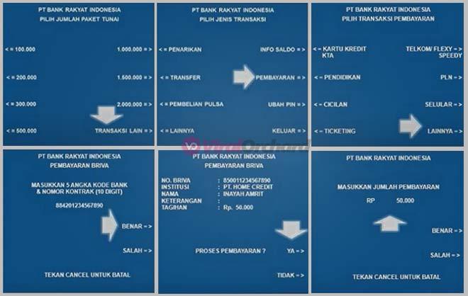 Cara Bayar Home Credit Lewat ATM BRI