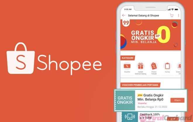 Cara Belanja Di Shopee Gratis Ongkir