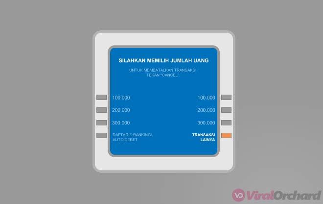 Cara Transfer Uang Lewat ATM BCA Ke Sesama