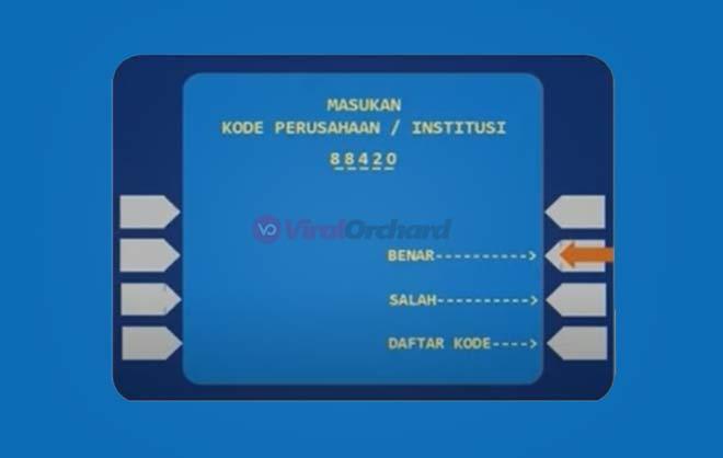 Bayar Home Credit ATM Mandiri