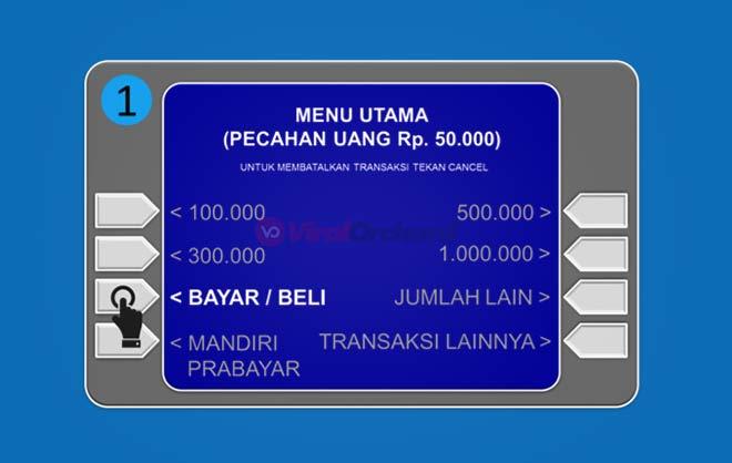 Cara Bayar Cicilan Home Credit VIA ATM Mandiri
