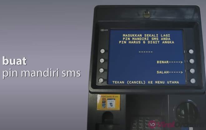 Cara Daftar Mobile Banking Mandiri Lewat ATM