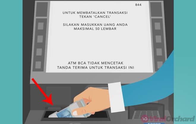 Cara Menabung di ATM BCA Tanpa Kartu