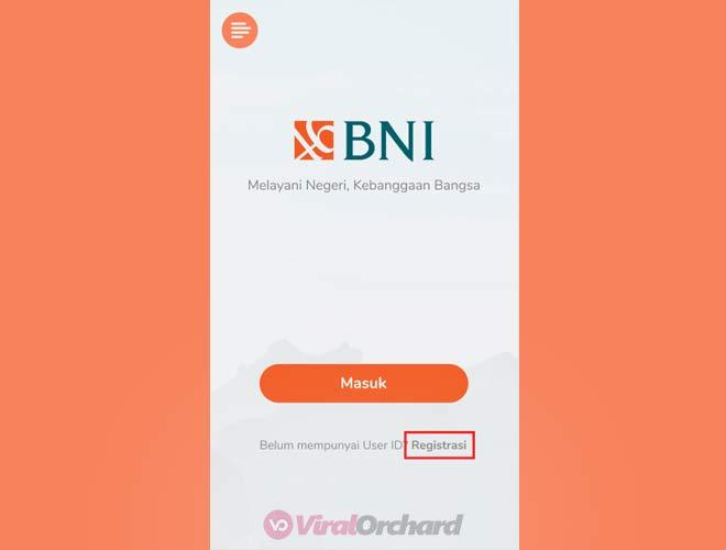 Cara Registrasi Mobile Banking BNI