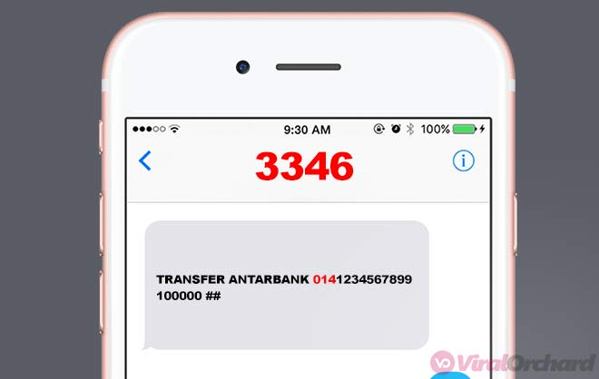 Cara Transfer BNI Ke BCA Lewat SMS Banking