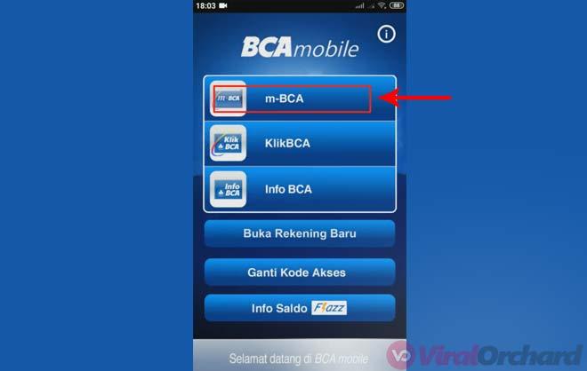 Cara Transfer M BCA ke BRI