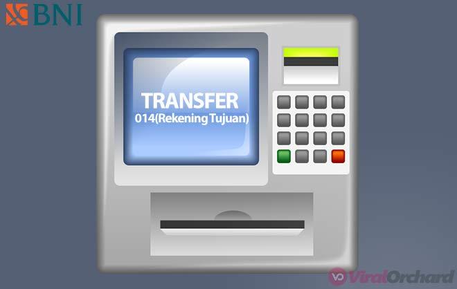 Cara Transfer Uang Lewat ATM BNI Ke BCA