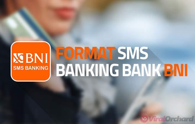 Daftar Format SMS Banking BNI