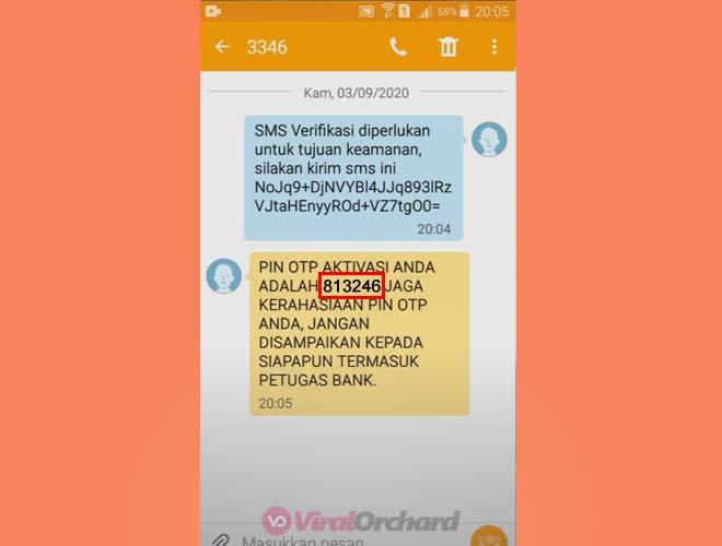 Kode OTP BNI Mobile Banking