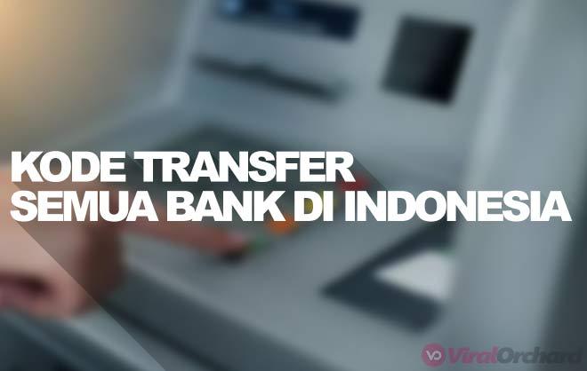 Kode Transfer Semua Bank di Indonesia