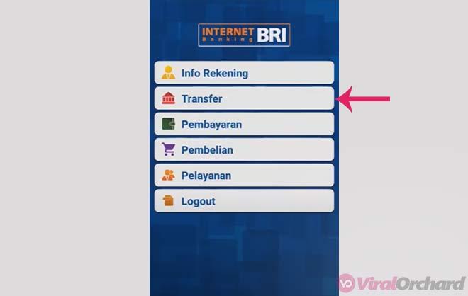 Transfer BRI Ke Mandiri Via BRI Mobile