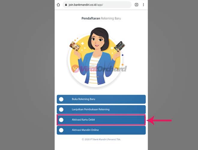 Cara Aktivasi Kartu Debit Mandiri Online