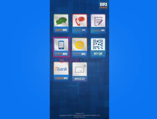 Cara Isi Brizzi Mobile Banking BRI
