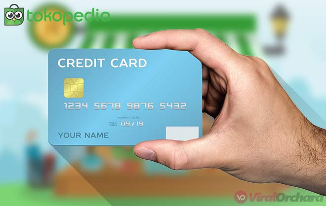 Cara Kredit Dengan Kartu Kredit di Tokopedia