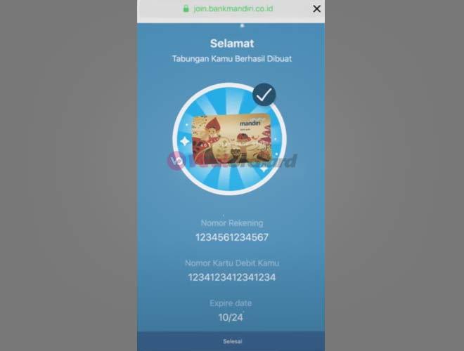 Cara Membuat ATM Mandiri Online