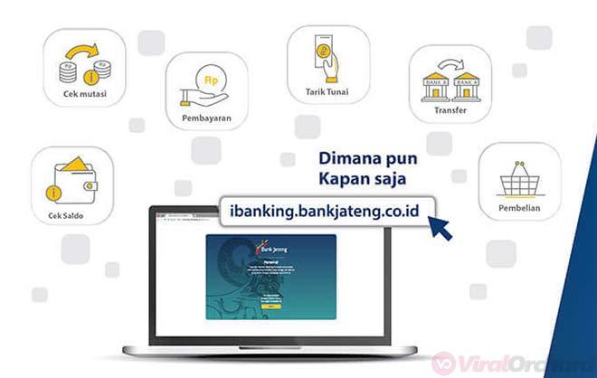 Cara Mendaftar Internet Banking Bank Jateng