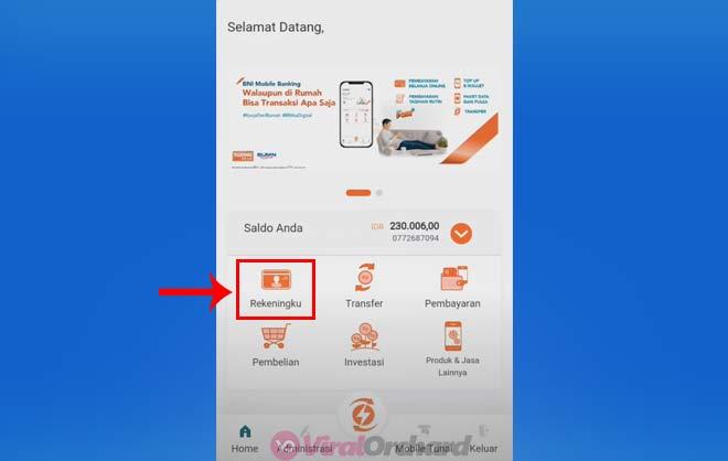 Cek Transaksi Terakhir Lewat Mobile Banking BNI