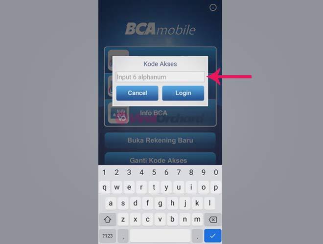 Cek Transfer Masuk BCA Mobile