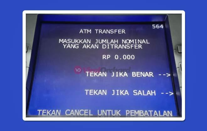 Jumlah Nominal Transfer