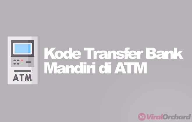Kode Bank Mandiri